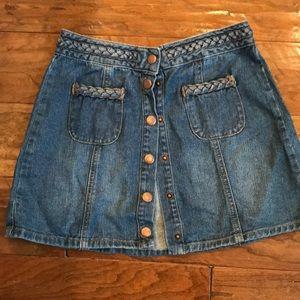 Kendall & Kylie mini denim skirt